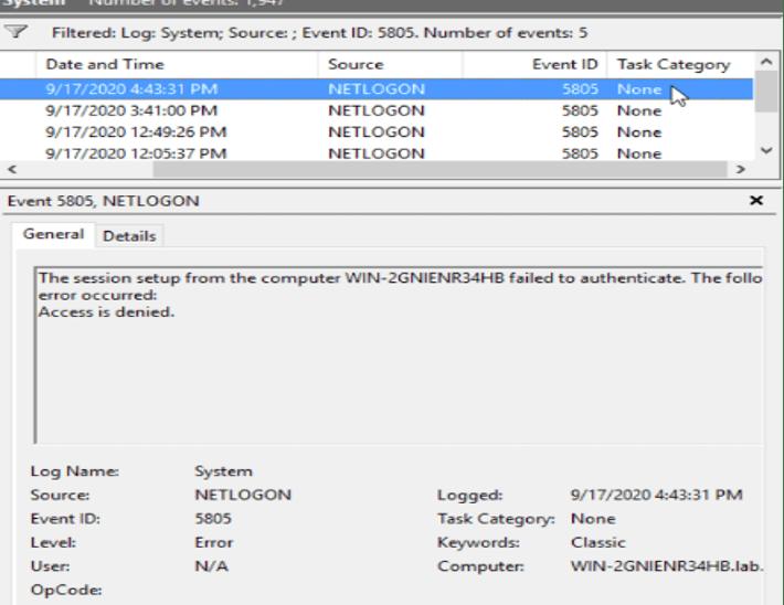 Detecting Zerologon CVE-2020-1472 Using Exabeam Data Lake
